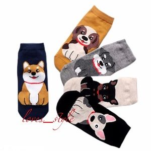 DOG LOVERS SOCK COLLECTION / 5 PAIRS